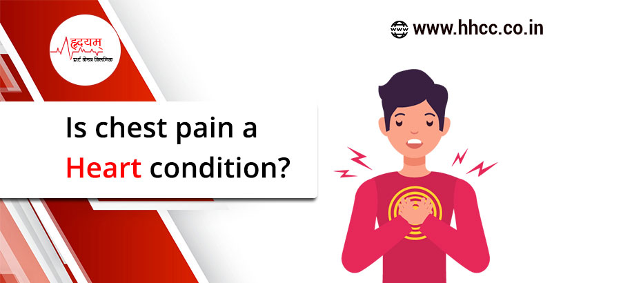 Is chest pain a heart condition?